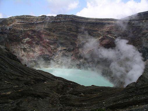 Fotky: Sopka Aso (supervulkán) (Japonsko)