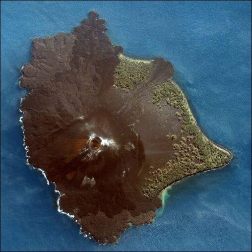 Fotky: Sopka Krakatoa (Indonésie)