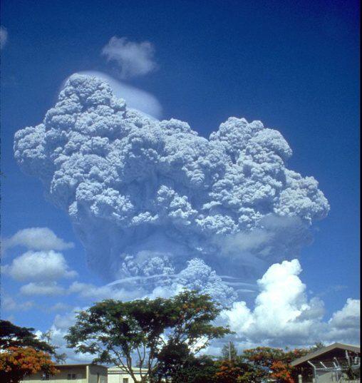 Fotky: Sopka Pinatubo (Filipíny)