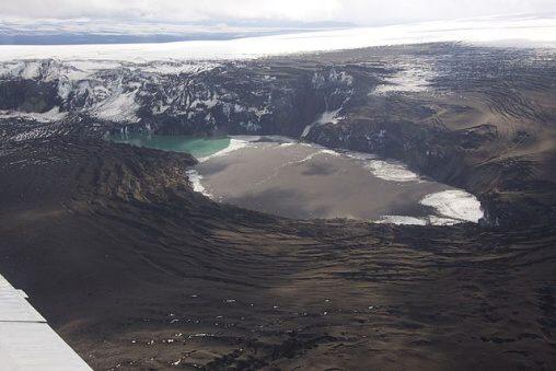 Fotky: Sopka Grímsvötn (Island)