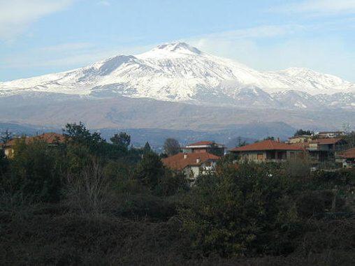 Sopka Etna