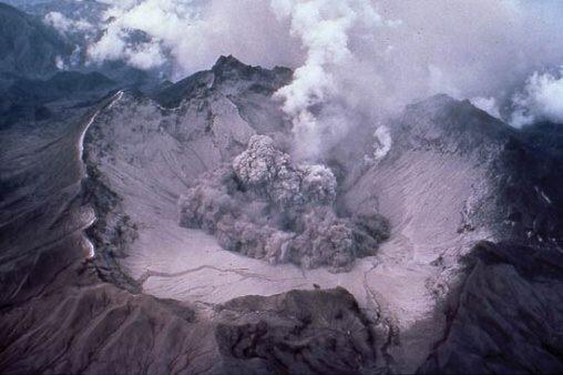 Fotky: Sopečná zima (erupce sopky Pinatubo)