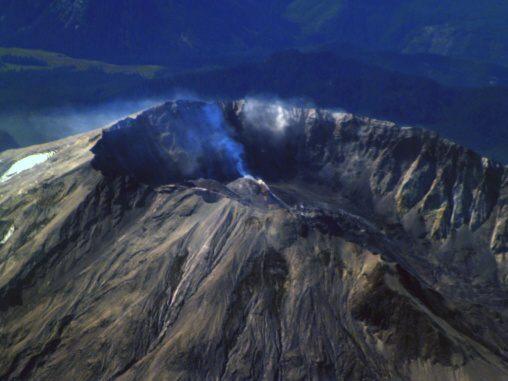 Fotky: Kráter sopky