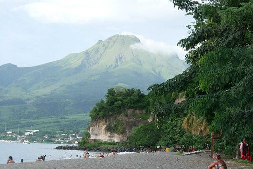 Fotky: Sopka Mont Pelée (Martinik, Karibik)