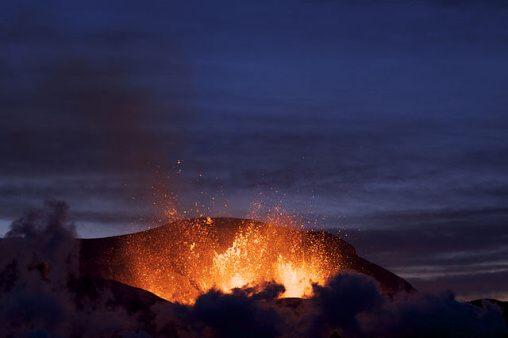 Fotky: Sopky na Islandu (Island)