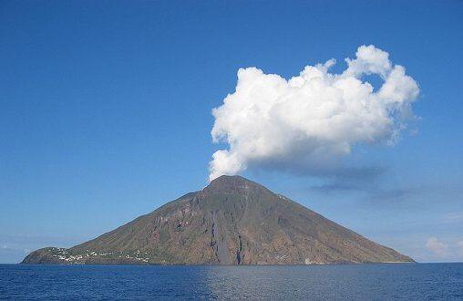Fotky: Sopka Stromboli (Itálie)